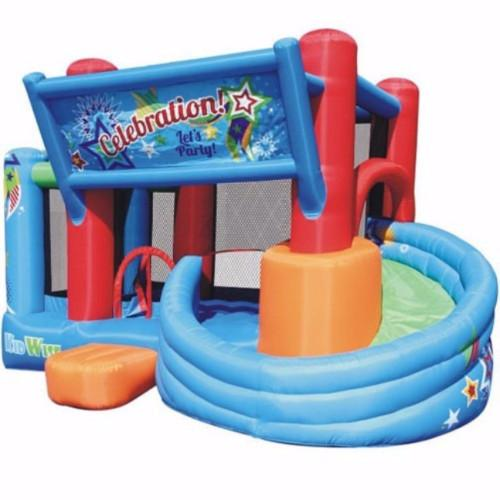 Residential Bounce House - Kidwise Celebration Bounce House and Tower Slide - The Bounce House Store