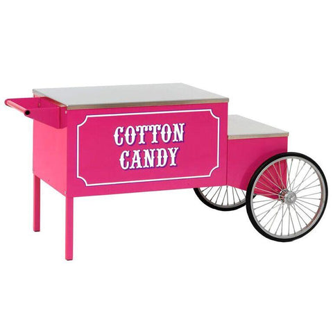 Carts & Stands - Large Pink Cotton Candy Cart - The Bounce House Store