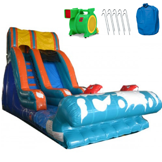 lil kahuna commercial inflatable water slide