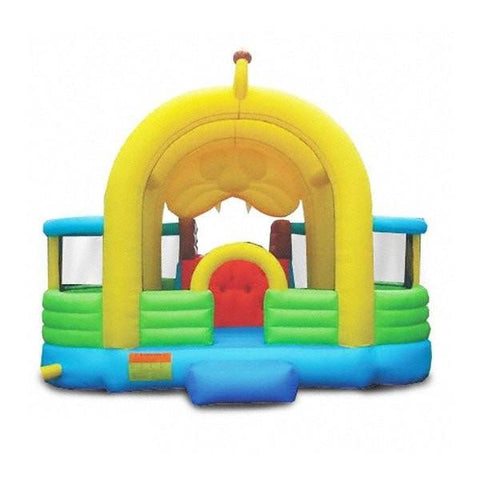 Residential Bounce House - Kidwise Lions Den Jumper With Slide - The Bounce House Store