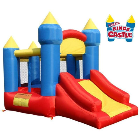 KidWise Little King's Castle With Slide Bounce House