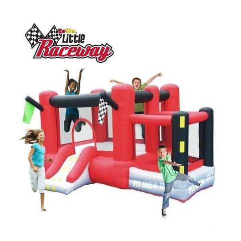 Residential Bounce House - KidWise Little Raceway Bounce House - The Bounce House Store