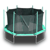 Image of magic circle 16' octagon trampoline with safety enclosure