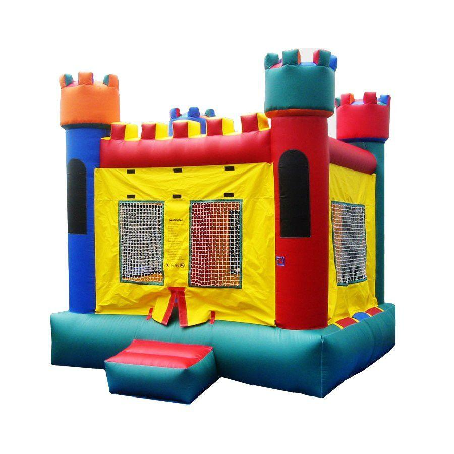 Commercial Bounce House - Happy Jump Castle 1 Commercial Bounce House - The Bounce House Store