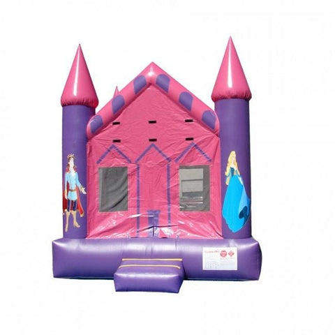 Commercial Bounce House - Happy Jump Princess Castle Commercial Bounce House - The Bounce House Store