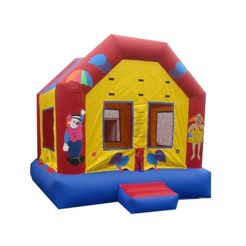 Commercial Bounce House - Happy Jump Party Bounce Commercial Bounce House - The Bounce House Store