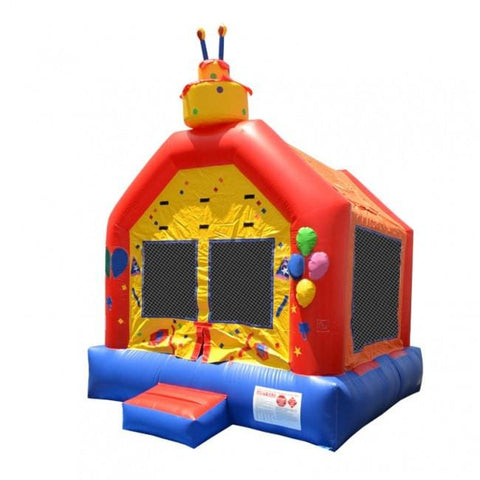 Commercial Bounce House - Happy Jump Birthday Cake Commercial Bounce House - The Bounce House Store