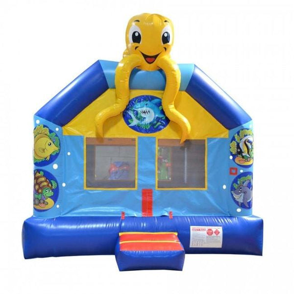 Commercial Bounce House - Happy Jump Sea Bounce Commercial Bounce House - The Bounce House Store