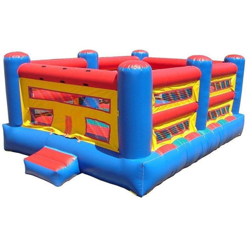 Commercial Bounce House - Happy Jump Inflatable Boxing Ring Commercial Bounce House - The Bounce House Store