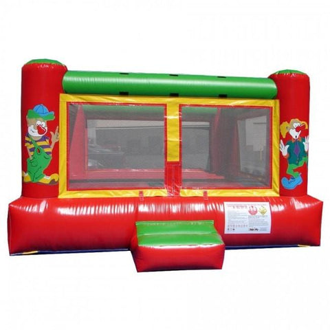 Commercial Bounce House - Happy Jump Clown Indoor Commercial Bounce House - The Bounce House Store