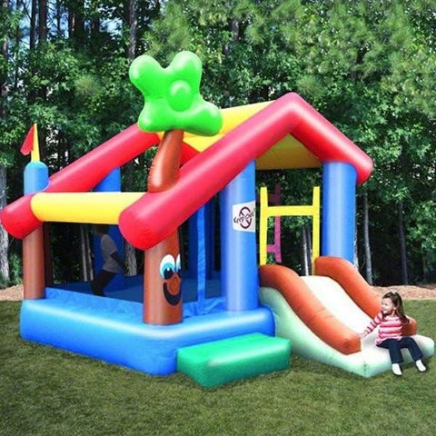 Residential Bounce House - KidWise My Little Playhouse Bounce House - The Bounce House Store