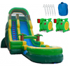 Image of palm tree commercial inflatable water slide