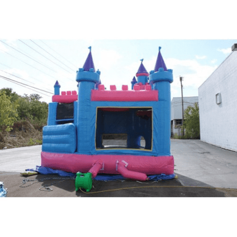 inflated princess castle commercial bounce house combo