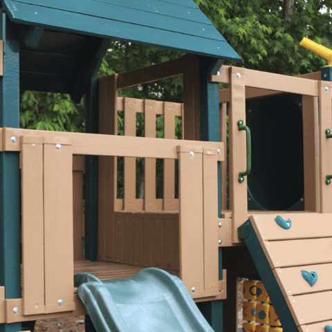 congo explorer swing set top platform