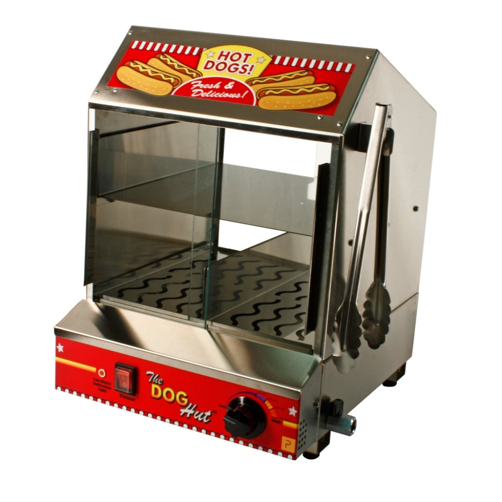 Hot Dog Equipment - Hot Dog Hut Steamer - The Bounce House Store