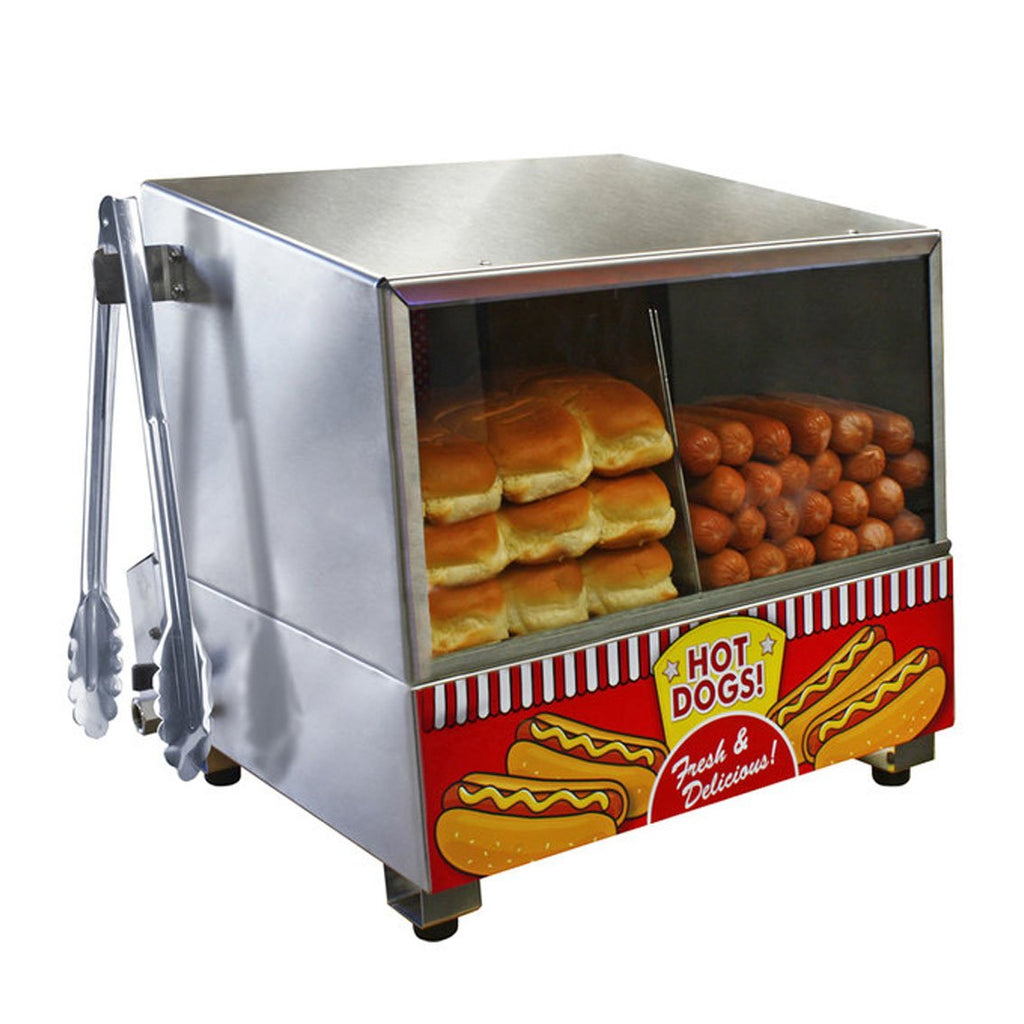 Hot Dog Equipment - Classic Hot Dog Steamer - The Bounce House Store