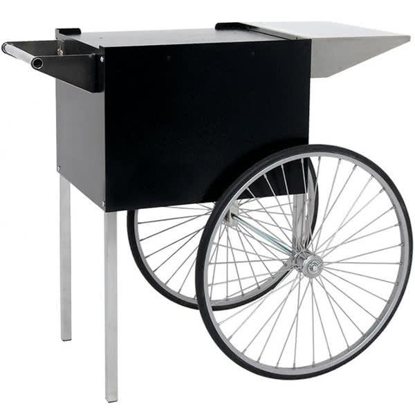 Black Professional Series Popcorn Cart
