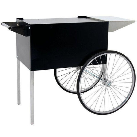 Carts & Stands - Black Professional Series Popcorn Cart - The Bounce House Store