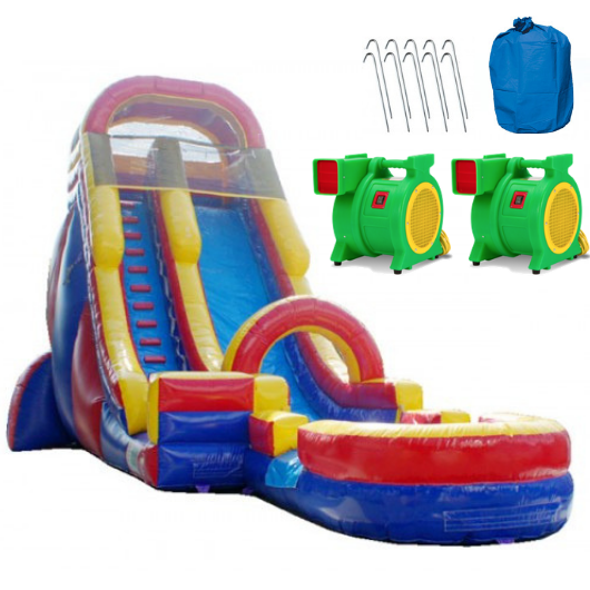 screamer inflatable water slide