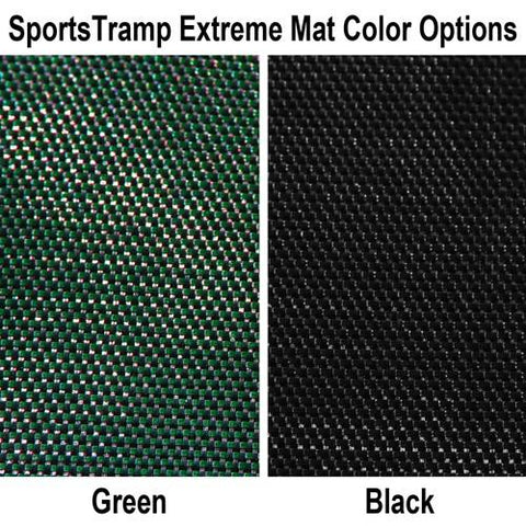 Sports Tramp Extreme 16' Octagon Trampoline With Detachable Safety Enclosure