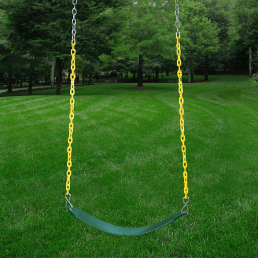 swing on playset