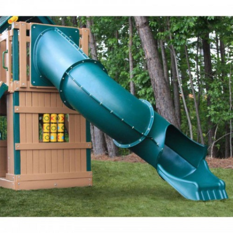 congo explorer swing set tube slide