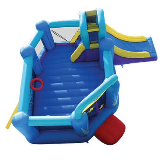 Residential Bounce House - Bounceland Pop Star Bounce House with Slide - The Bounce House Store