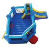 Image of Residential Bounce House - Bounceland Pop Star Bounce House with Slide - The Bounce House Store