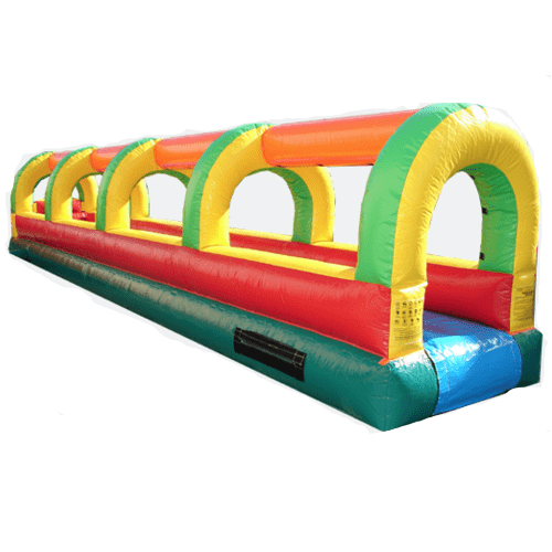 Slip N Slide - 33'L Single Lane Commercial Slip N Slide - The Bounce House Store