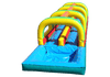 Image of Slip N Slide - 40'L Happy Jump Dual Lane Slip N Slide With Pool - The Bounce House Store