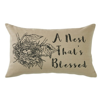 Blessed Nest Pillow