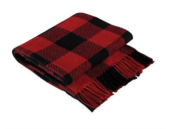 Buffalo Check Cotton Throw