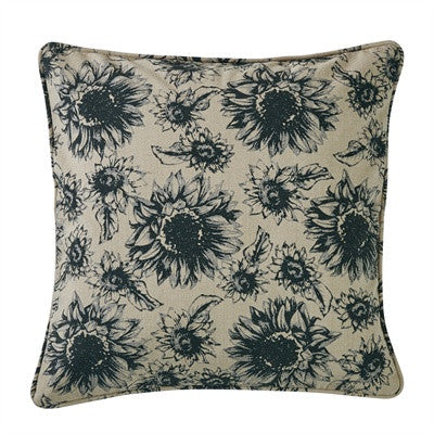 Sunflower Garden Printed Pillow