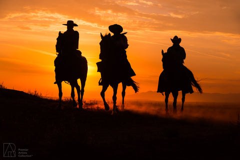 Cowboy at Sunset Collection 4 - Alton Vance