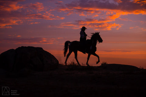 Cowboy at Sunset Collection 5 - Alton Vance