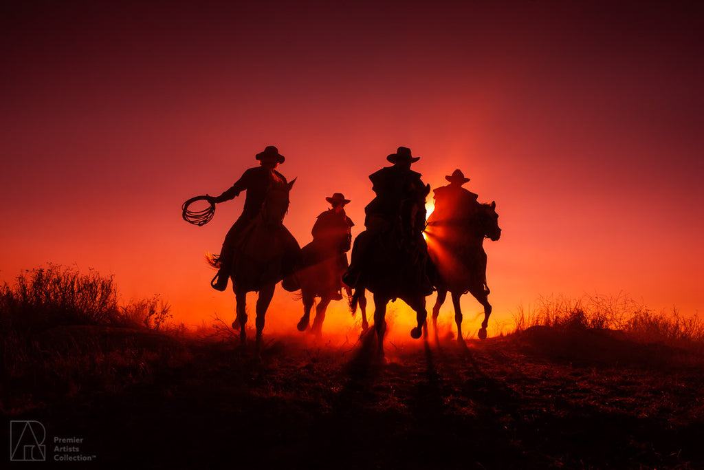 Cowboy at Sunset Collection 7 - Alton Vance