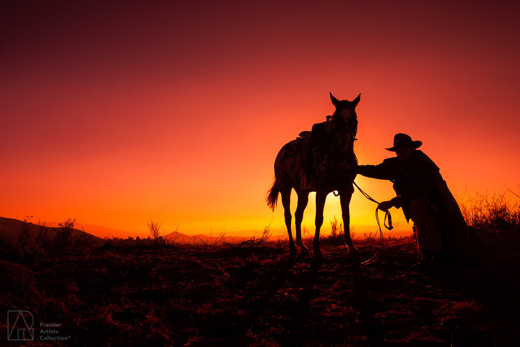 Cowboy at Sunset Collection 9 - Alton Vance