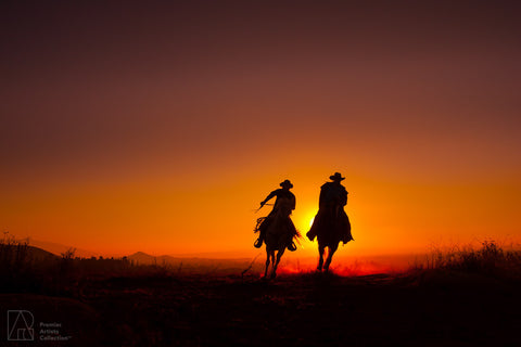 Cowboy at Sunset Collection 10 - Alton Vance