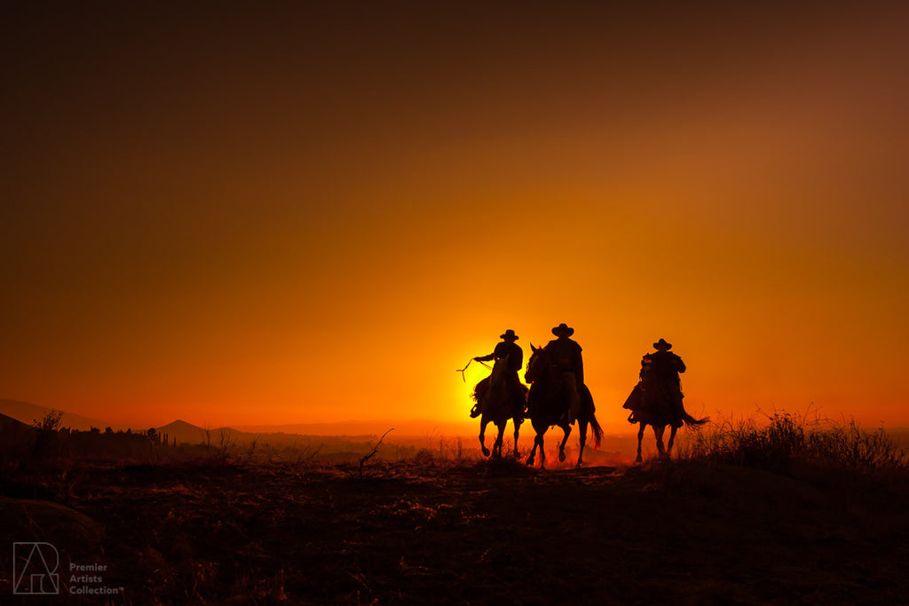 Cowboy at Sunset Collection 11 - Alton Vance