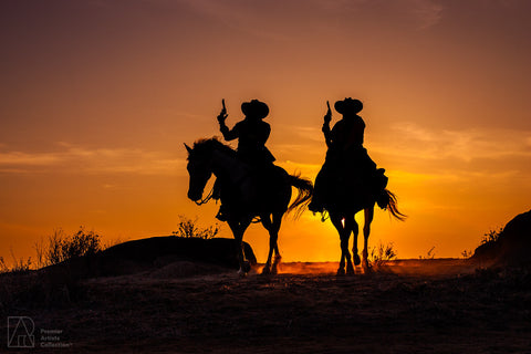 Cowboy at Sunset Collection 14 - Alton Vance