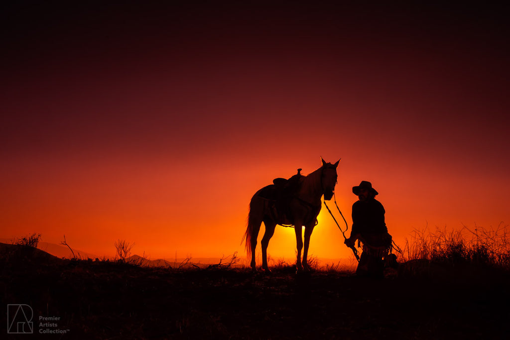 Cowboy at Sunset Collection 15 - Alton Vance