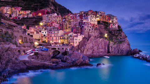 Manarola Twilight - Bobby Tan