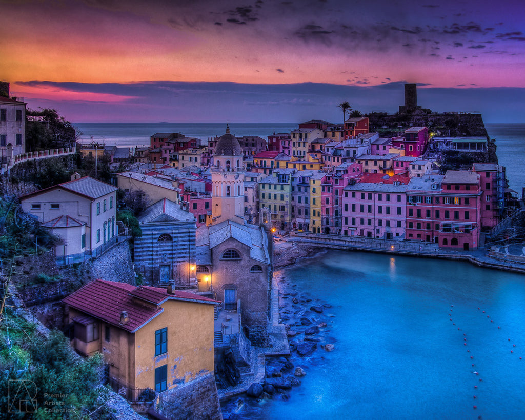 Vernazza Sunrise - Bobby Tan