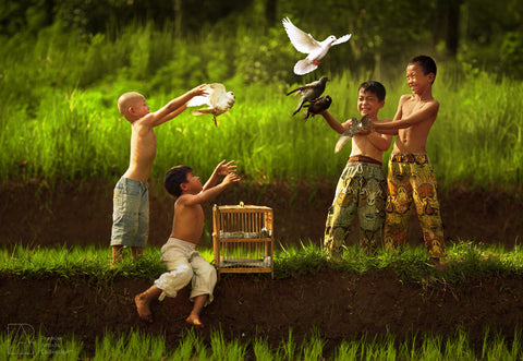 Dove and Kids - Rarindra Prakarsa