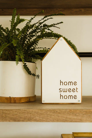 Home Sweet Home Tabletop Sign