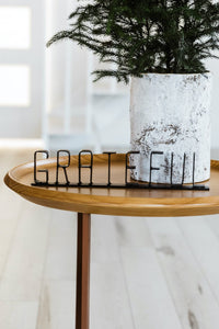 Grateful Tabletop Metal Sign
