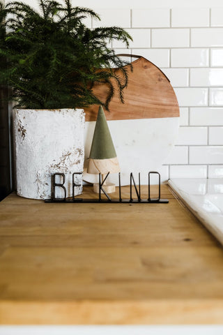 Be Kind Metal Sign