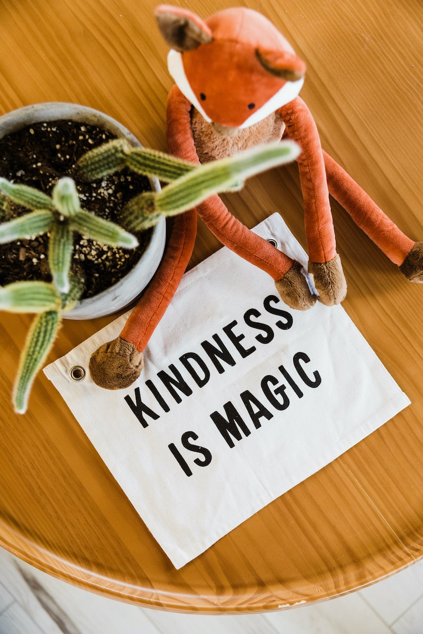Kindness Is Magic Sign