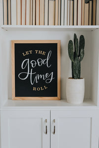 Magnetic Letter Board Kit Black Slate | Roolee Home