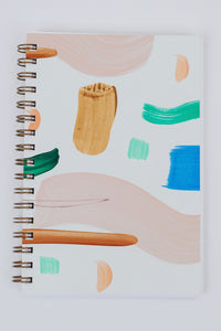 Seashape Painted Notebook